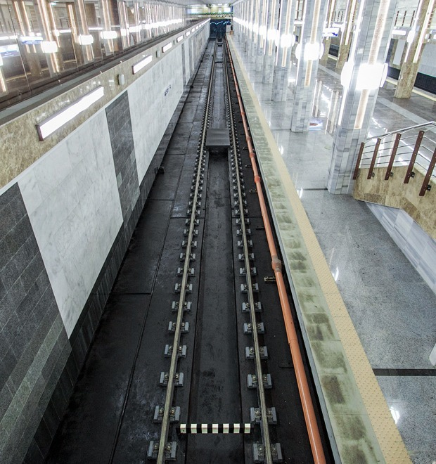 Фоторепортаж: В Киеве открыли новую станцию метро — Фоторепортаж на The Village Україна