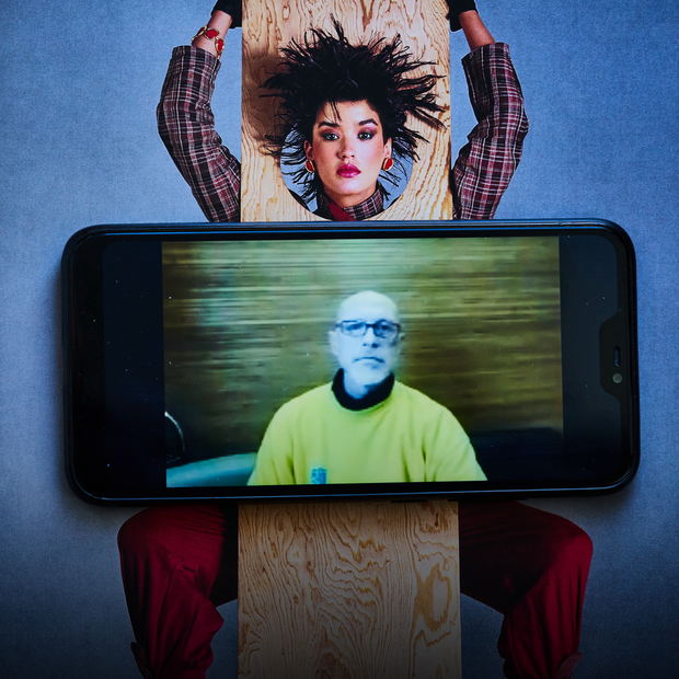 Ізоляція: фотограф Валентин Кузан знімає онлайн-портрети для «Гадання на карантині»  — Камера спостереження на The Village Україна