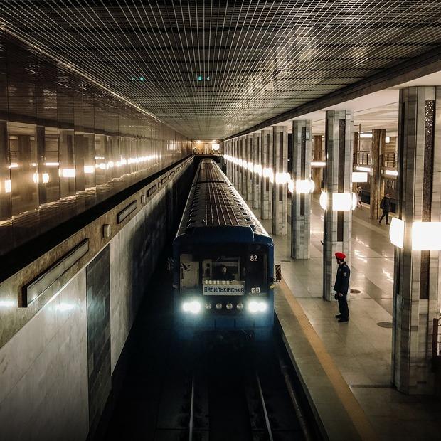 Я працюю в «Київському метрополітені»