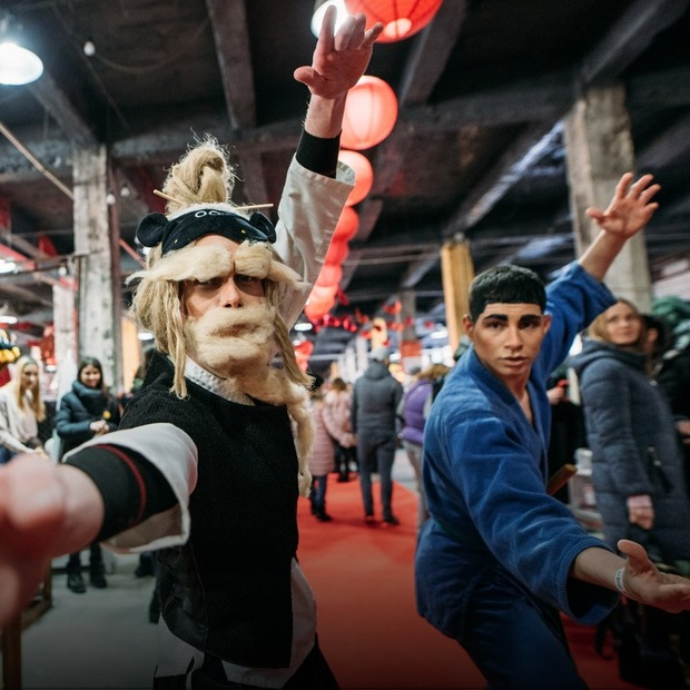 Китайський Новий рік на «Кураж Базар»: як це було — Фоторепортаж на The Village Україна