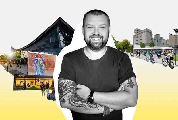 Архітектор проти міста: Сергій Махно – про свою пропозицію оновлення Подолу, вабі-сабі і жлобізм