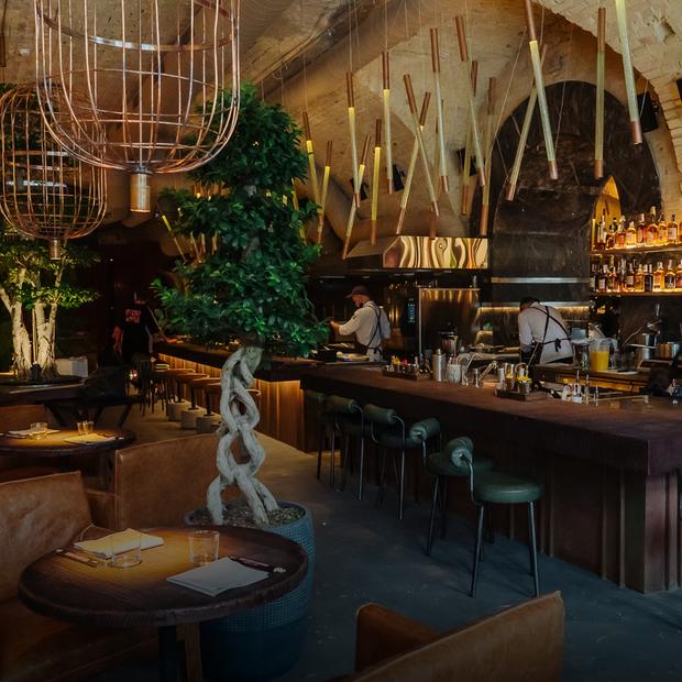 Virgin Izakaya Bar у корпусі заводу «Арсенал»