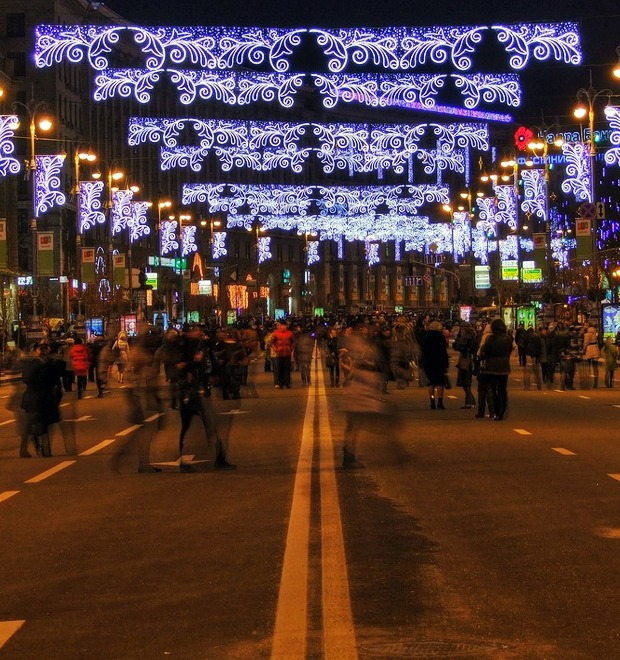Каким будет рождественский посёлок на Крещатике — Місто на The Village Україна