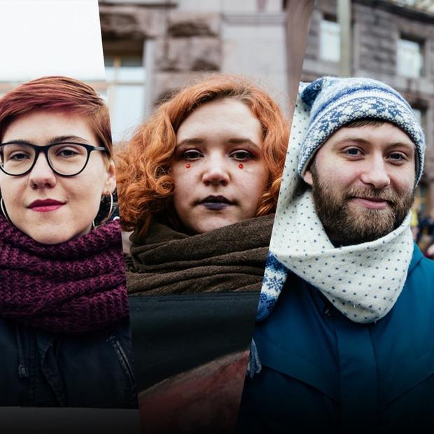 Не «свято ніжності та краси»: хто вийшов на марш жінок