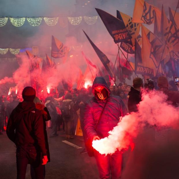 Марш слави героїв: як це було  — Репортаж на The Village Україна