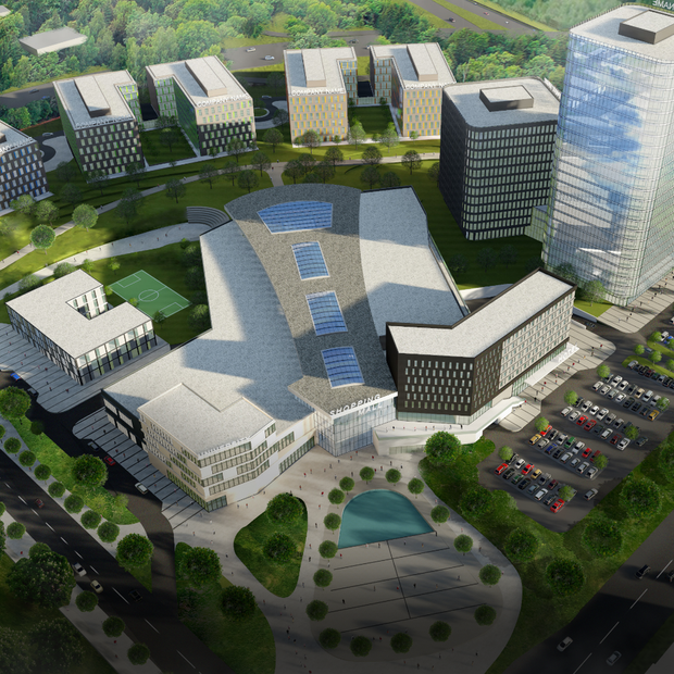 Яким буде Innovation District IT Park у Львові — Львів на The Village Україна
