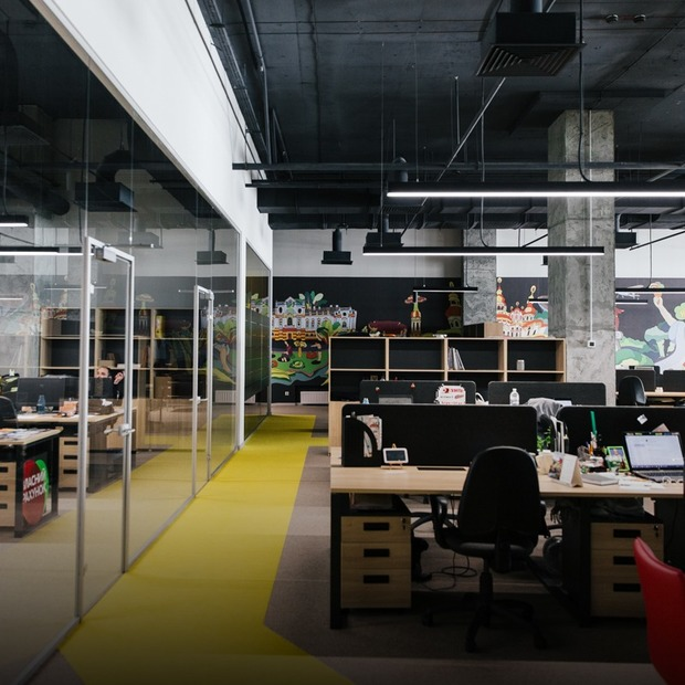 Масажний кабінет і більярд у новому офісі «Сільпо» на 900 працівників