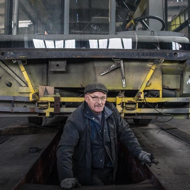 Я працюю у тролейбусному депо №2
