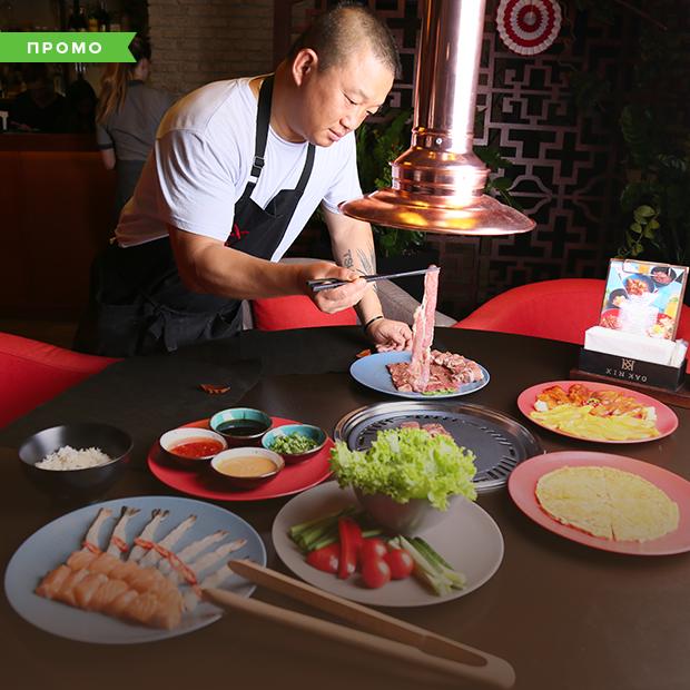 KIN KAO на Подолі: паназійський ресторан із корейським грилем на столах  — Слово Шефа на The Village Україна