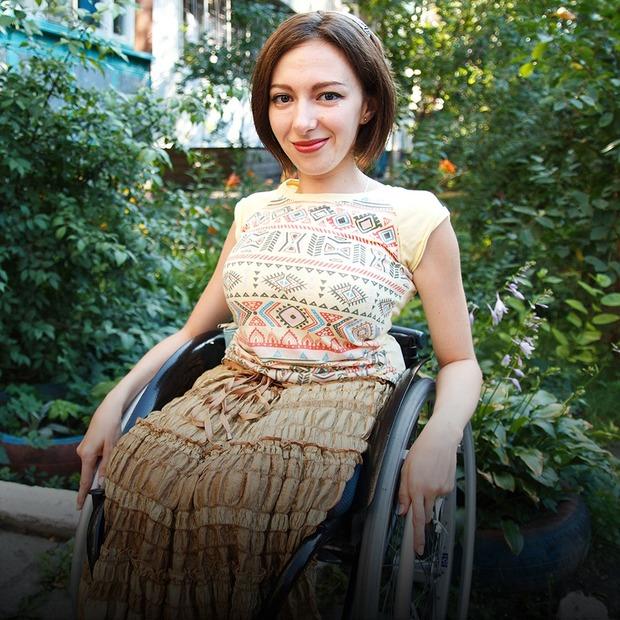 Я живу на візку — Люди в місті на The Village Україна