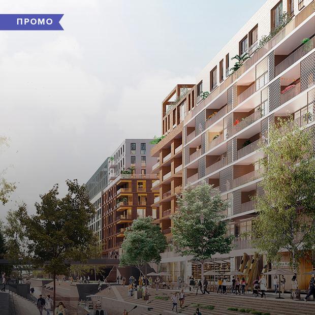 Що перетворює житловий район на ком'юніті? Розбираємо п'ять факторів на прикладі RYBALSKY — Промо на The Village Україна