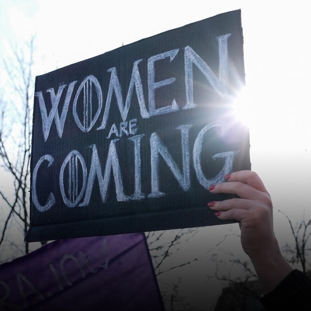 «Не берегиня»: репортаж із маршу за права жінок у Києві  — Репортаж на The Village Україна