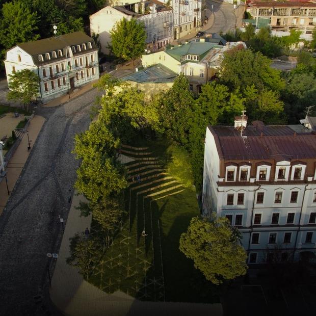 Артсквер Сліпака на Андріївському узвозі. Яким він буде   — Громадський простір на The Village Україна