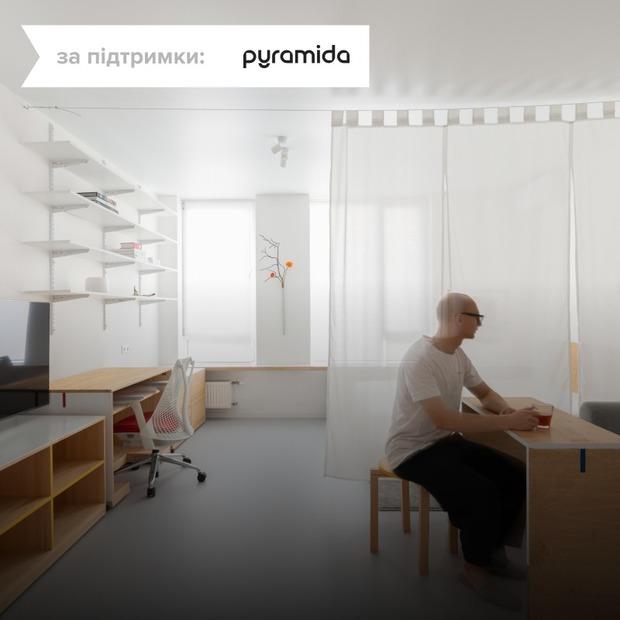 Квартира-студія з адаптивним інтер'єром для фотографа   — Квартира тижня на The Village Україна