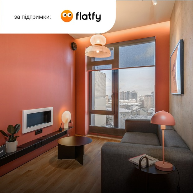 Квартира з данськими меблями на Січових Стрільців