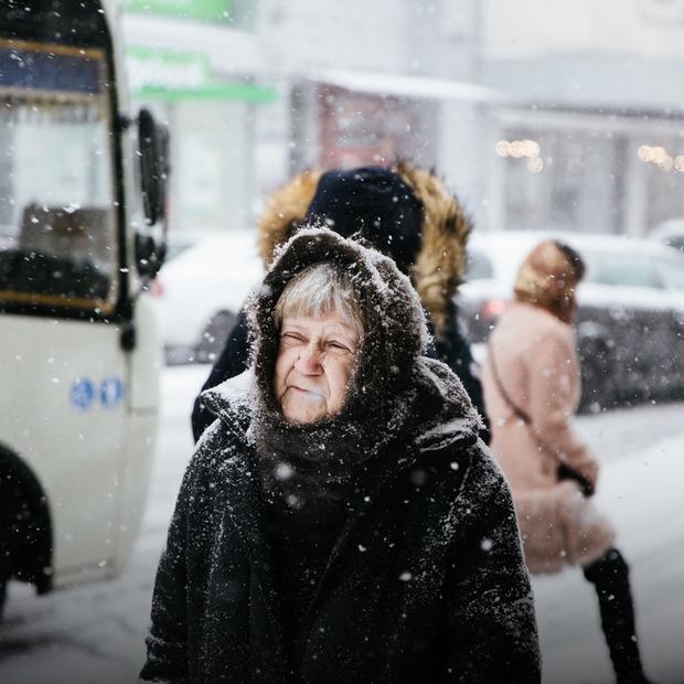 Перший сніг у Києві — Фоторепортаж на The Village Україна