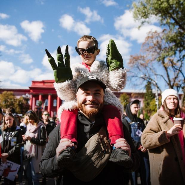 Хто прийшов на Марш за права тварин  — Фоторепортаж на The Village Україна