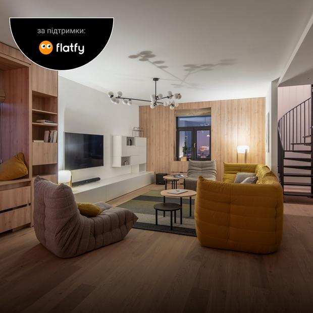Три тераси в двоповерховій квартирі на Липках  — Квартира тижня на The Village Україна