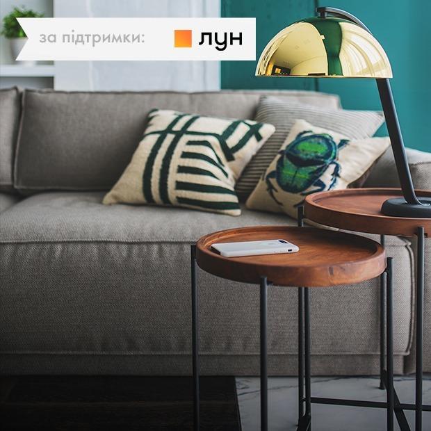 Золото і зелений колір у студії в «Новопечерських Липках» — Квартира тижня на The Village Україна