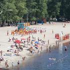 На дев'яти пляжах Києва дозволили купатися