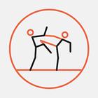 Біля «Дорогожичів» у сквері встановили боксерський ринг із накриттям