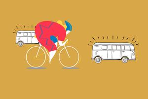 Велосипедистам дозволили рухатись у смузі з маршрутками. Це добре чи погано?