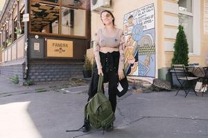 Альона Гудкова, 35 років, засновниця благодійної барахолки «Кураж»