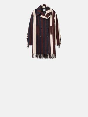 Пальто з бахромою від H&M Studio