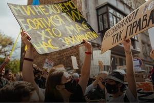 «Зупинимо сафарі на Подолі!» Фоторепортаж із протесту проти поліцейського свавілля