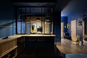 Темна квартира для пари у ЖК «Французький квартал»