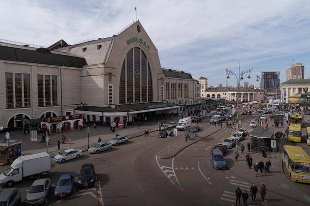 Я працюю на Центральному вокзалі Києва