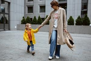 Олена Масюткіна, 34 роки, власниця магазину Milk Kids, та донька Меланія, 4 роки