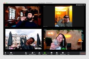 Для тих, хто любить працювати в кав'ярні: 10 фонів із київськими закладами для Zoom