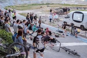 Вечірка Nechto, Ulichnaya Eda, Марш за Київ і кіно на велотреку