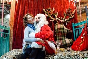 Різдвяний «Кураж Базар»: упряжки хаскі, резиденція Поганого Санти і  ялинковий базар