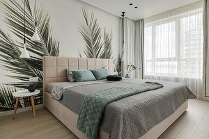 «Тропічна квартира» для айтішника з краєвидом на Дніпро