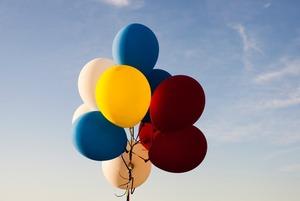Відмовитися від повітряних кульок на заходах