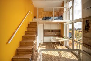Трирівнева квартира з мансардою в «Комфорт Тауні»