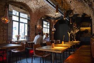 Win Bar у будівлі початку ХІХ століття на Подолі