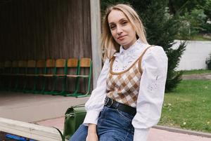 Ірина Мокрій, 28 років, учителька географії