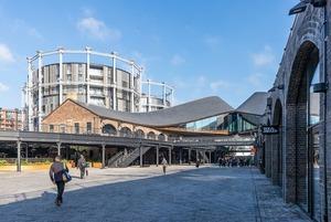 Торговельний центр на місці вугільних складів: як відбудували лондонський район Кінгс-Кросс