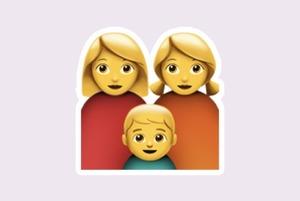 Це ЛГБТ-пара, яка разом виховує дитину