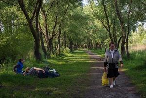 Камера спостереження: Роман Поляков знімає Троєщину