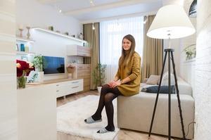 Однокімнатна квартира з Pinterest