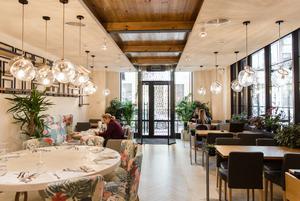 Ліванська та італійська кухня у ресторані «Італієць із Бейрута»