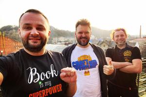 Засновники !FEST («Криївка», «П'яна вишня») – про кризу, відновлення та другу «Реберню» в Києві