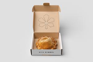 Для гастрономічного символа Києва Kyiv Pie обрали логотип. А ось альтернатива від YOD Group