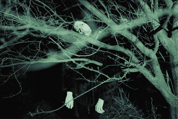 Знімай шубу: фотопроект The Village Україна у нічному лісі