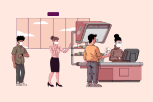 Скільки заробляє касирка в супермаркеті