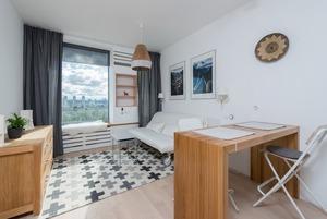 Швеція на 22 м² у смарт-квартирі на лівому березі